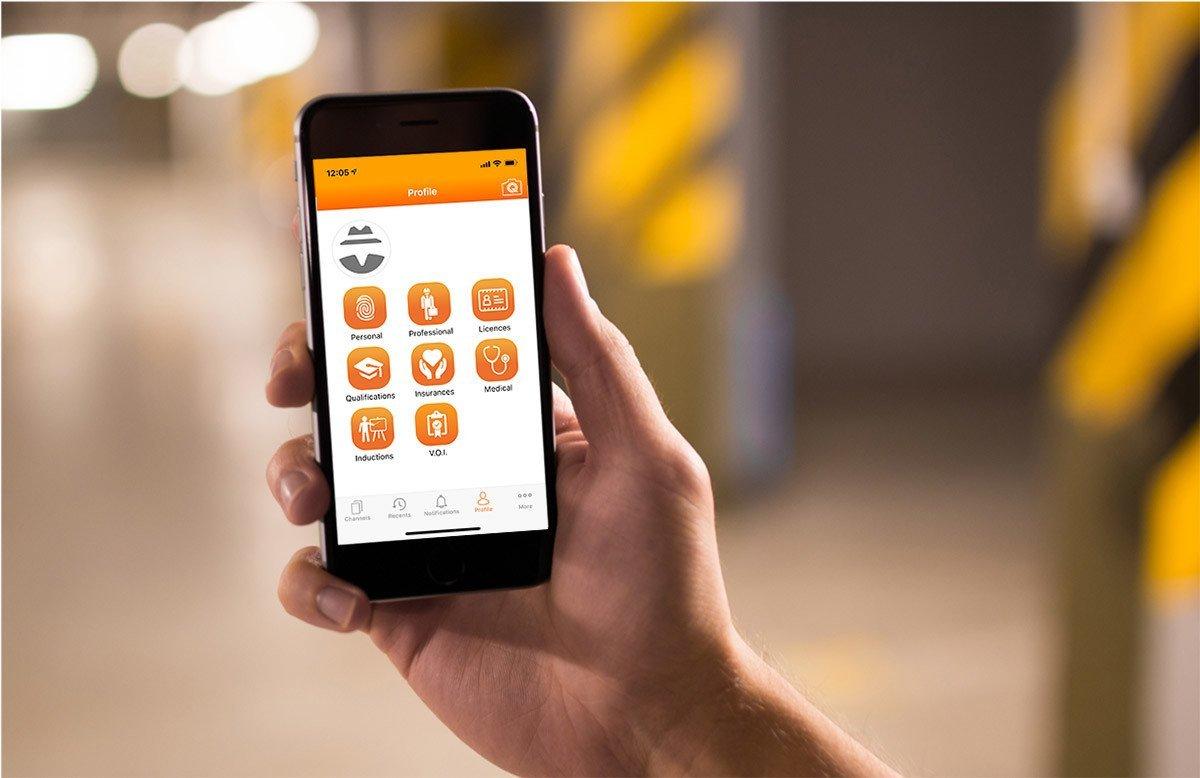 Qin App menu