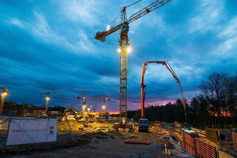 Construction Site - Building concrete pump